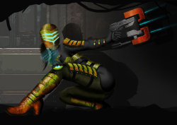 Dead Space Girl V2 by ~giles89