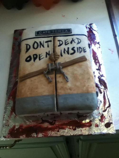 Don't Open Dead Inside Cake