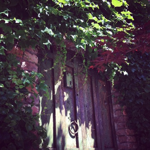 A door to the past. (at Downtown Placerville)