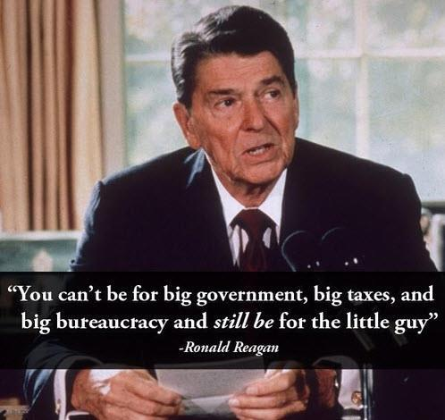 Ronald Reagan told it like it was…