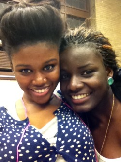 That's me and my Nigerian sister :-) lol…I love herrr..