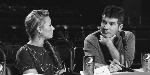 Simon Cowell Told Demi She Needed To Do WHAT To Stay On The X Factor?!