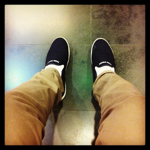 My fashion shoes: Fred Perry #shoes #fashion #iphone4 #iphonegraphy #instagram #instaphotos #popular #instagramers #photooftheday #dailylifee