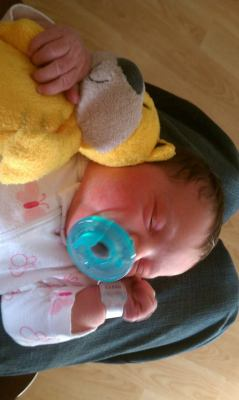 My niece Riley Sage (:
