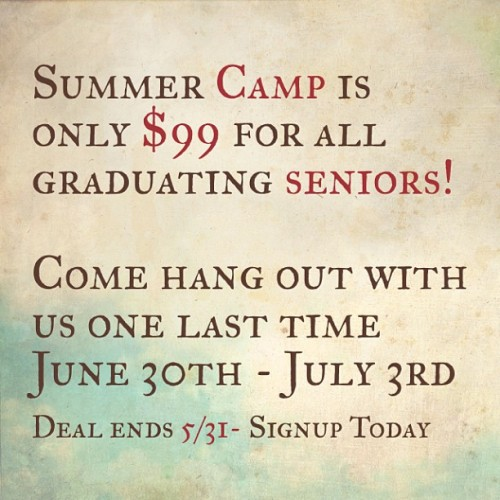 Senior's don't miss this AMAZING deal!