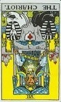 chariot reversed tarot card meanings
