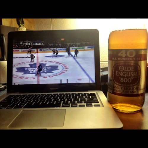 Saturday 🍺#Leafs #OldeEnglish