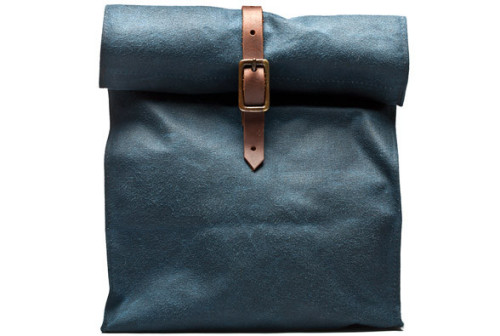 Waxed Canvas Lunchbag by Kauffmann Mercantile