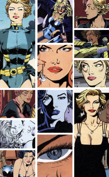 Black Canary/Oracle: Birds of Prey by Chuck Dixon┕ Black Canary (Dinah Lance)  Oracle: I thought it was time to get you out of the fishnets and hot pants. Your profile needs work as well as your life.