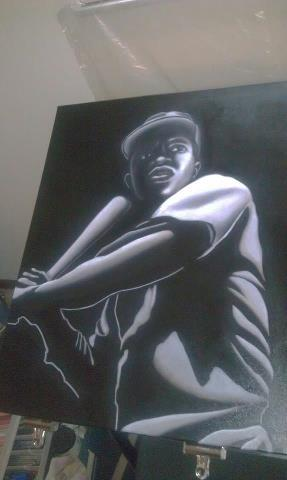 The Artist ERIC JEFFERSON…………………. #JACKIEROBINSON #42 #LOVE