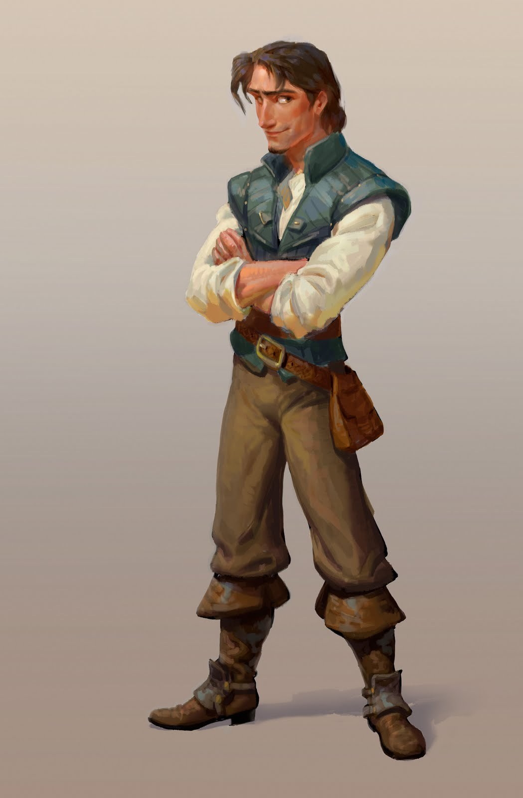 Flynn Rider Jin Kim (drawing), Dan Cooper (digital), Dave Goetz (art direction) | Digital