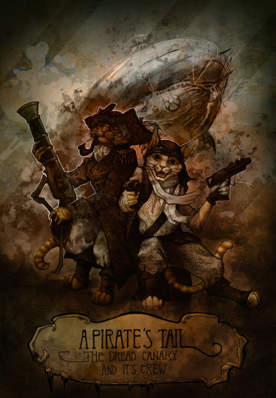 The Dread Canary Pirates by Sindija Mactama