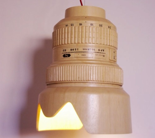 Paparazzi Lamp - Hanging lampMónoculo Design Studio |  This is one awesome lamp.
