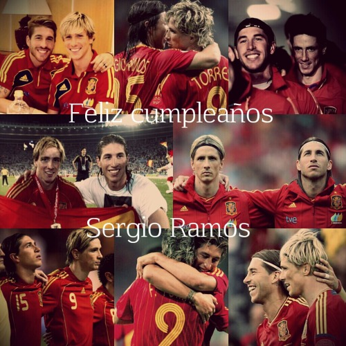 loveftorres9:  Happy birthday to  Sergio Ramos!