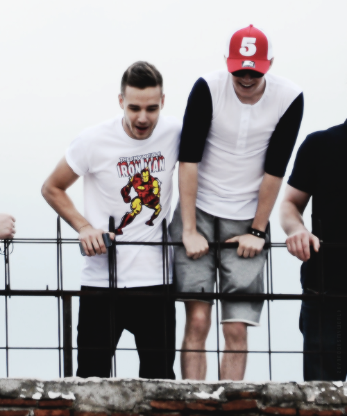 Liam and Niall in Milan/Italy today (19th May 2013)
