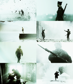 Screencap meme - Band of Brothers + silhouettes (asked by anonymous)