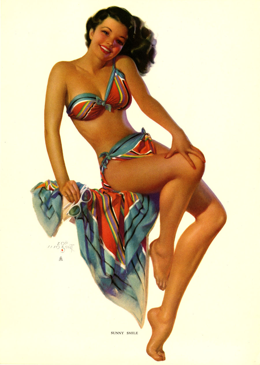 vintageladies: 1950's by Zoe Mozart