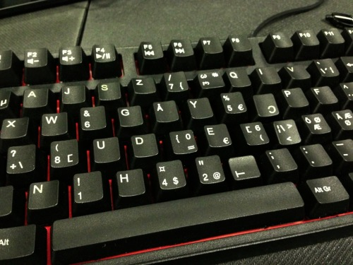 Best bonus feature on mechanical keyboards: randomly rearranging the keys on your colleagues keyboard.  Have fun tomorrow Mitchel!