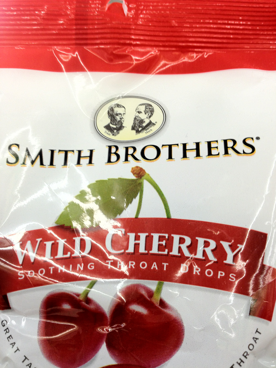 No, thank you. I'm still sucking on a Smith Brothers. -Rose