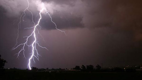 Dark lightning linked to its luminous twin Dark lightning, also called terrestrial gamma-ray flashes, is a burst of powerful gamma-ray radiation produced in thunderstorms.