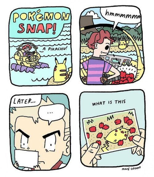 Pokemon Snap by Maré Odomo