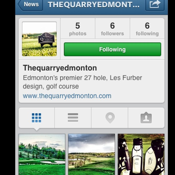 Do yourself a favor a follow @thequarryedmonton. It's the new players course of yeg. #golf #yeg #780 #luxury #style #sunshine #happiness #love #edmonton #yyc #yvr #cool #life #instagood #instamood #igdaily #nature #cloudporn #menswear #fashion #strong #healthy #active #pga #golfing #fore #letsgo