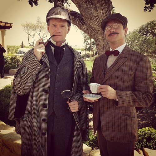 JUST IN CASE I didn't love NPH enough. bakerstreetbabes:  deadlynadder:  i'm pretty sure they're the cutest couple ever   #ded