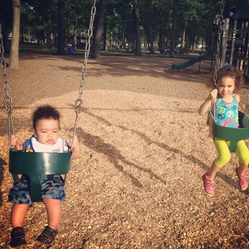 These kids… (at Garden City Park)