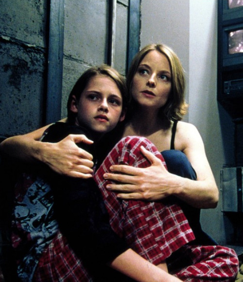 Kristen Stewart and Jodie Foster in Panic Room (2002)