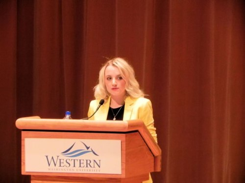 Evanna Lynch @ Western Washington University May 15, 2013