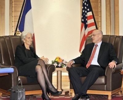 sexigapolitiker:  Christine Lagarde may be over 60, but her legs are those of a 30-year old, especially when she wears sheer black tights.