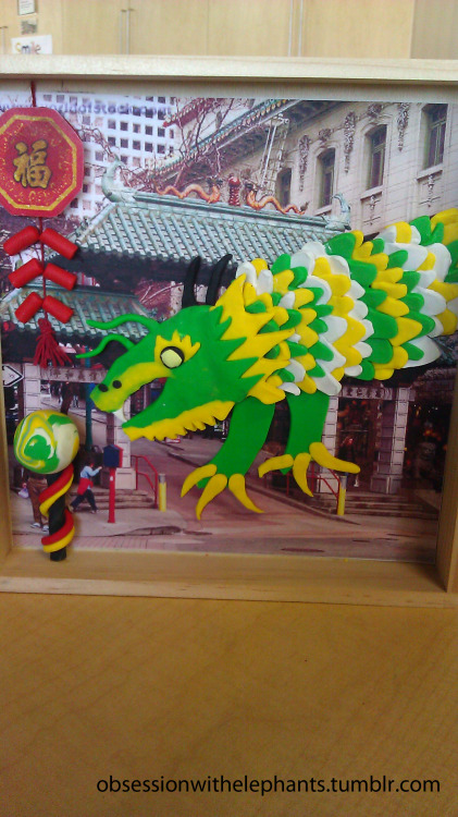 obssessionwithelephants:  Dragon in SF Chinatown. February 2013.