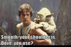 aaaaaaannnd here comes another Yoda Meme    :-)