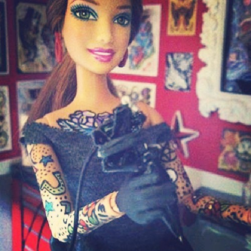 obscuremoments:  Best kind of Barbie yo!