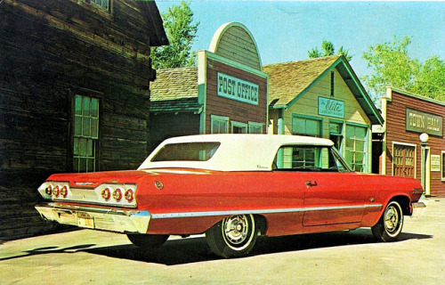 1963 Chevrolet Impala Convertible with Esquire Hardtop by aldenjewell on Flickr.1963 Chevrolet Impala Convertible with Esquire Hardtop