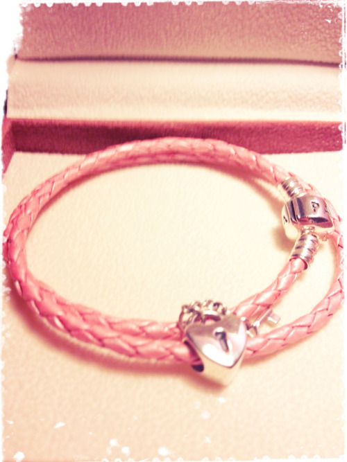 "littlegirlwhisperer:  dollyrotten:  my bracelet from Daddy! i love it more than anything. thank you Daddy for choosing me to be your little girl.  Pandora makes the best ""submissive"" charm bracelets! You can go to their online store and design your own and see how it will look with other charms mixed in. Once you have a cool design for your sub, you can save the design and track which charms you get for her. And of course, Pandora also has a phone app that does the same thing."
