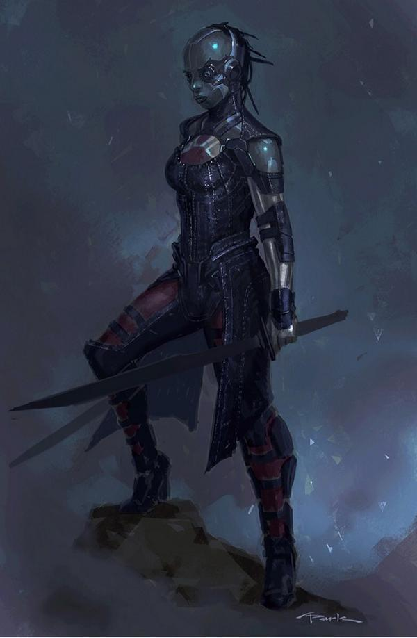 Geek Art Gallery: Concept Art: Gamora and Nebula