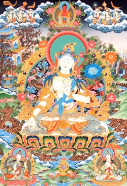 planet-b:  Dedicated to the White Tara practice connected to health, longevity and wisdom.