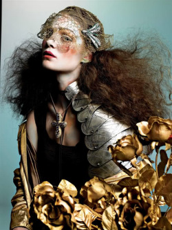 powderdoom:  Vogue Italia September 2005
