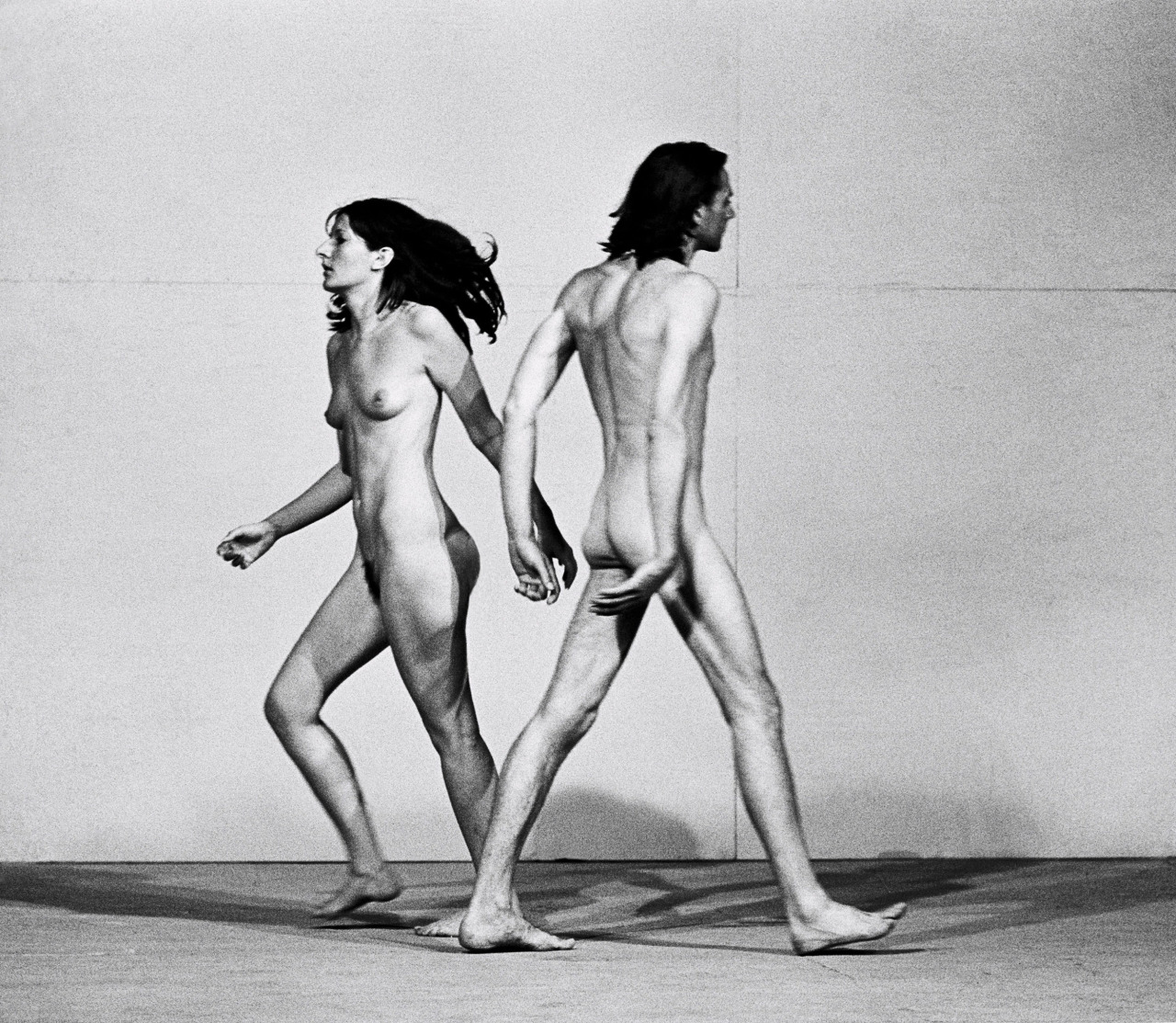 Marina Abramović: Relation in Space with Ulay circa 1976
