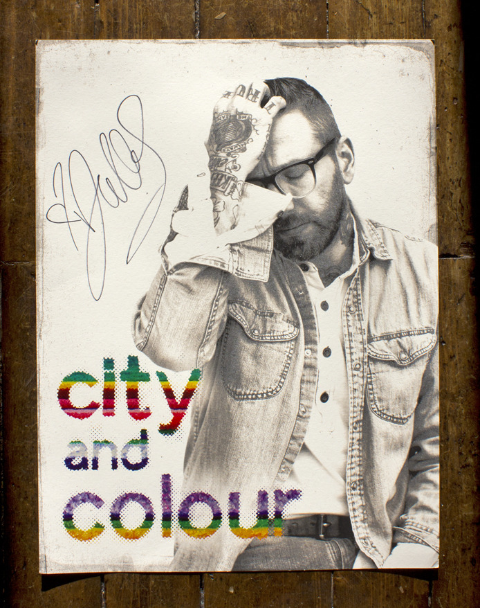 "diningalone:   CONTEST: WIN A SIGNED LIMITED EDITION CITY AND COLOUR TOUR POSTER We've got our THIRD and FINAL limited edition City and Colour poster to give away for the holidays! This time around, we've got a signed 24"" x 18"" poster. Entering is super easy - all you've got to do is FOLLOW OUR BLOG + REBLOG this post!  That's it! Winner will be chosen by tomorrow (Thursday, December 20) afternoon and must claim their prize by Friday, Dec 21 at 12PM or another winner will be chosen. - - -  CLICK HERE to find out how you can win a massive prize pack ft. swag from JANSPORT, VANS, and tons of Dine Alone exclusives. Don't forget to enter our $500 GRAND PRIZE GIVEAWAY CONTEST! TO ENTER: Take a photo of yourself in your most ridiculous holiday sweater - the more creative, the better!