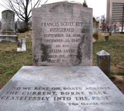 latterman:  F. Scott and Zelda Fitzgerald's grave.