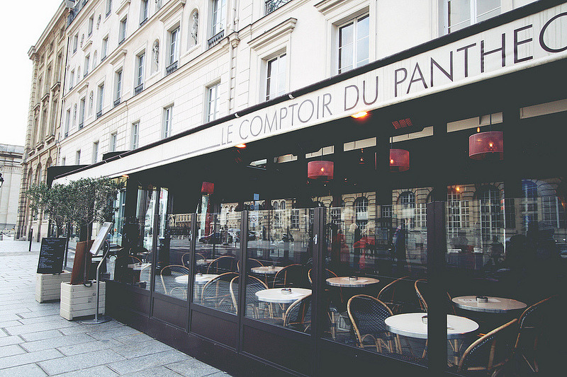 Cafe To me, part of what makes Paris charming is the abundance of quaint cafes around the city.