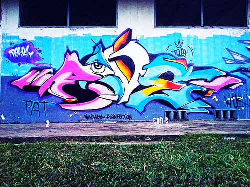#graffiti ravas on your eyes