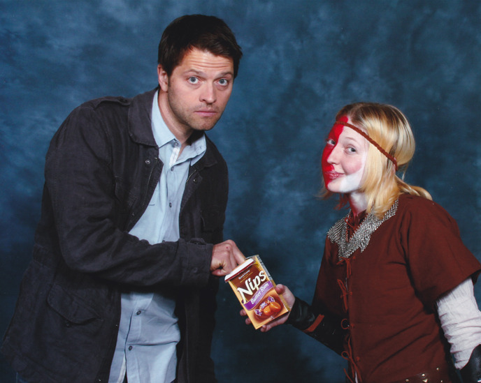 messestogether:  Misha touched my Nips