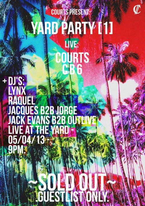 This Friday Yard Party! https://www.facebook.com/events/342672545839388/?ref=22