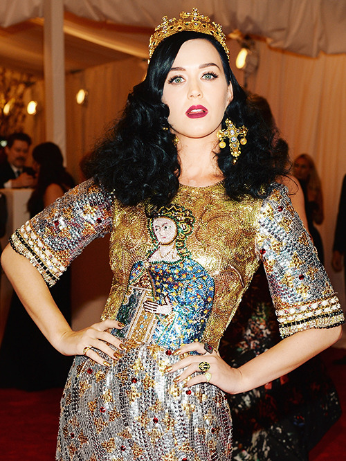 "Katy Perry @ the ""PUNK: Chaos To Couture"" Costume Institute Gala at the Metropolitan Museum of Art in NYC - May 6, 2013"