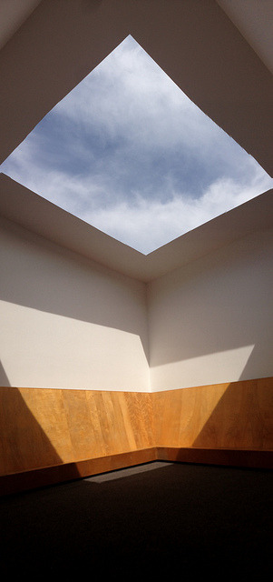 "hragv:  Inside James Turrell's ""Meeting"" (1986) on Flickr."
