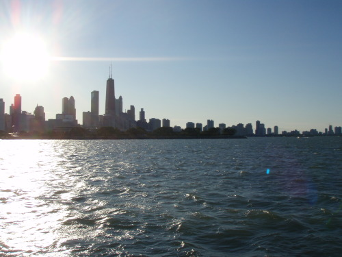 Chicago, taken off of Lake Michigan