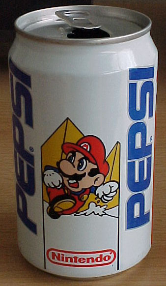supermariobros:  I LIKE COKE BETTER!